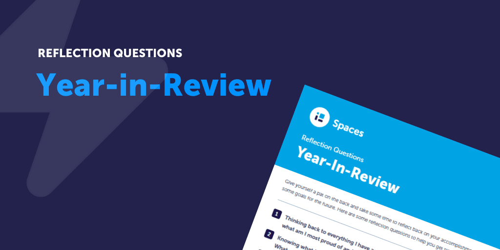 Reflection Questions - Year-in-Review